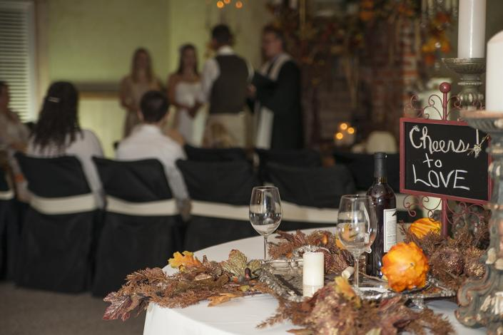 [Image: Whether you are looking for a Fall indoor wedding venue or fun outdoor location to host a birthday party, we have the features that make Thorndale Oaks the perfect venue. ]